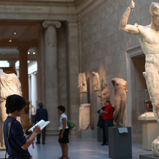The Metropolitan Museum of Art holds an extensive collection of Greek scultpure.