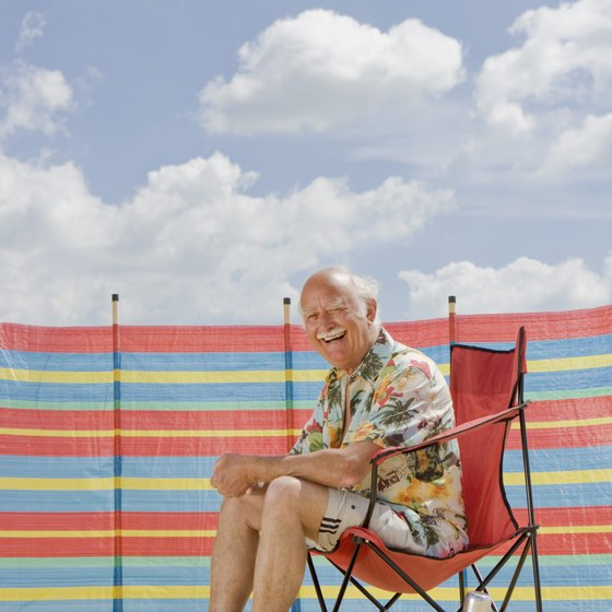 Bring your folding chair while you camp on an Orange County beach.