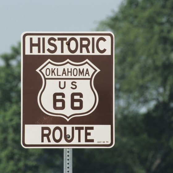 Stay just off the historic Route 66 in the community of Stroud, OK.