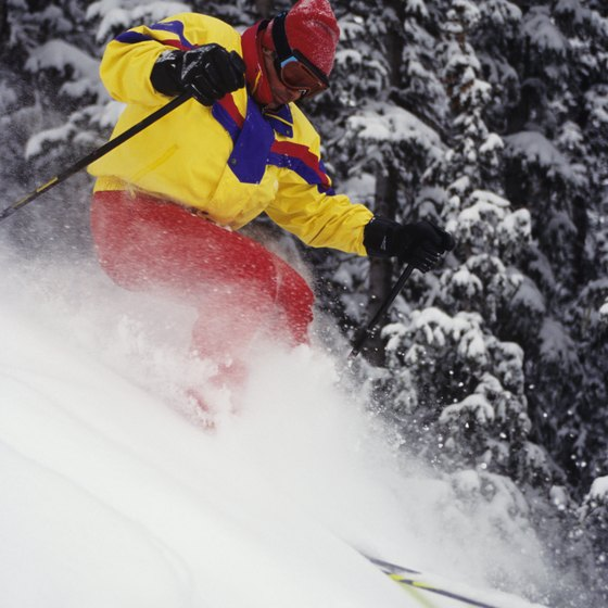 Taos Ski Valley has New Mexico's greatest vertical drop.