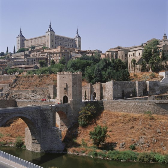"Visit the medieval, walled ""City of Three Cultures"", Toledo Spain."