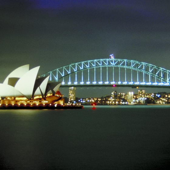 Sydney is Australia's largest city.