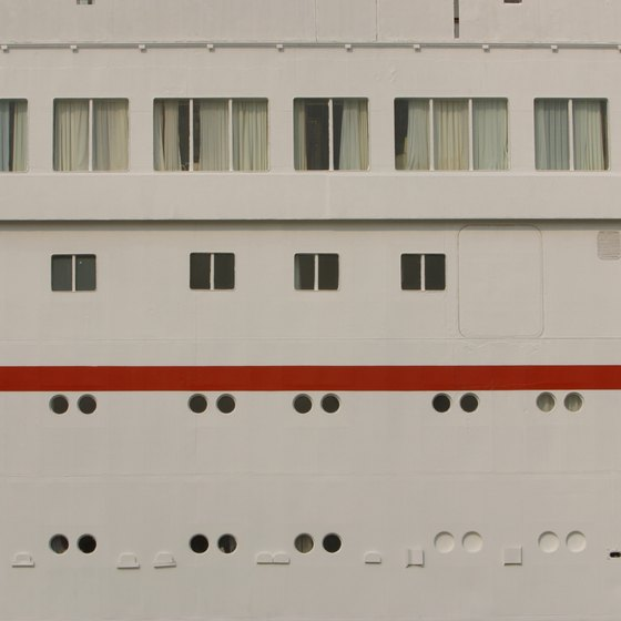 First-time cruisers may be surprised at the small size of their cabin.