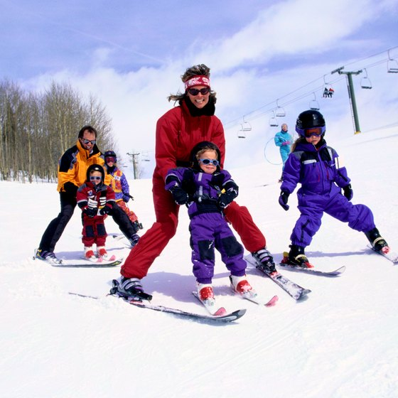 Colorado has many resorts that can teach kids how to ski.