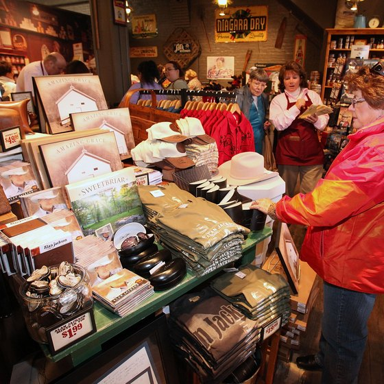 In addition to a restaurant, each Cracker Barrel location includes a country store.