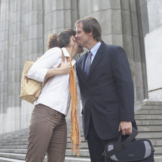 A small kiss is a common form of greeting in Argentina.