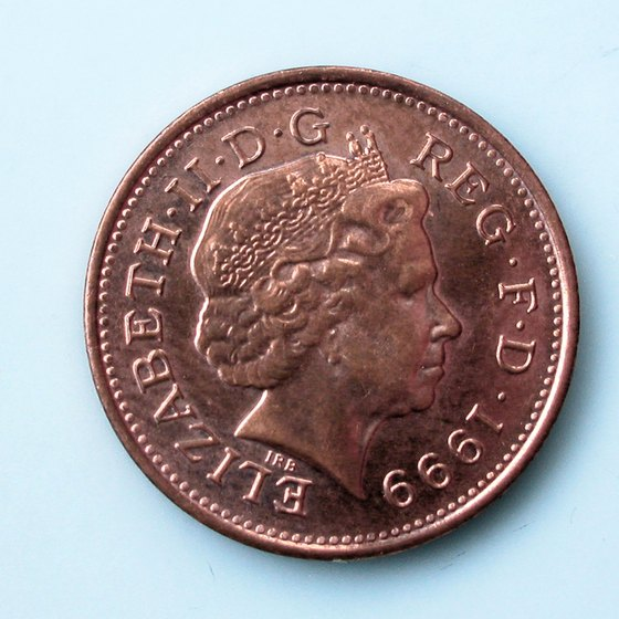 The British monarch appears on British and Canadian coins.