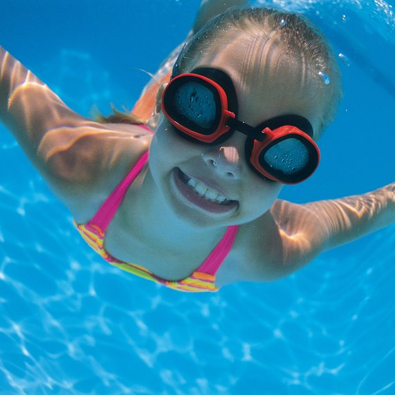 Kids can learn to swim in Bentonville.