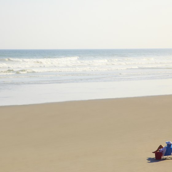 Enjoy the wide, white sand beaches of South Jersey year round.