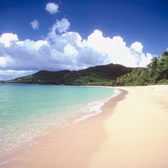 A secluded beach, the dream destination of many travelers