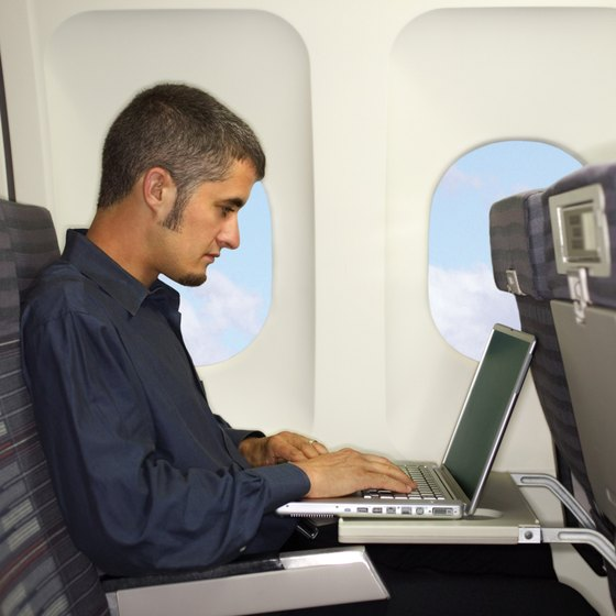 Get your laptop on board with ease.