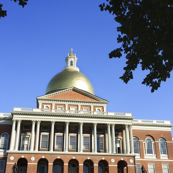 Built in 1798, the Massachusetts State House is a place people can visit for free.