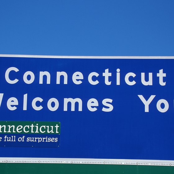 The Connecticut Turnpike, or Interstate 95, runs along Connecticut's eastern coast.