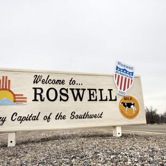 The famous UFO crash-site, Roswell, New Mexico, is also the Southwest's dairy capital.