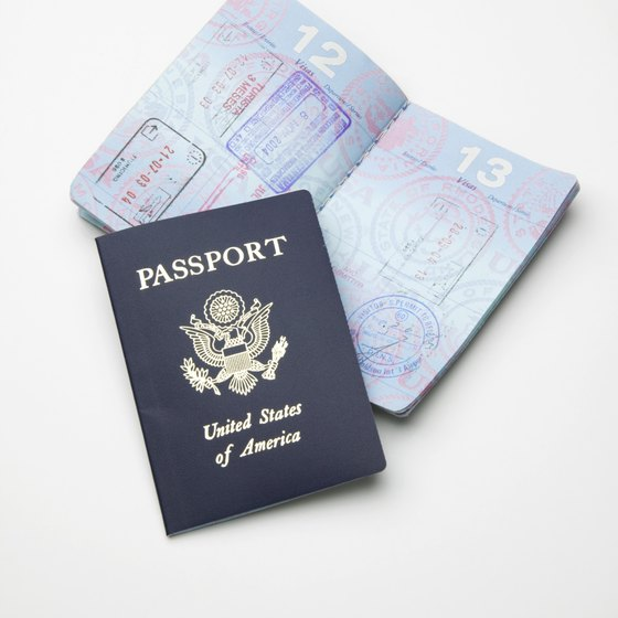 The information page of your passport indicates its expiration date.