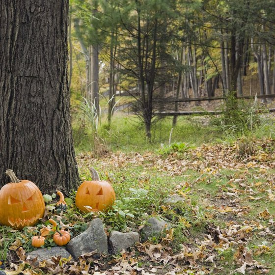 During October, the area around Gilberts is home to haunted trails and houses.