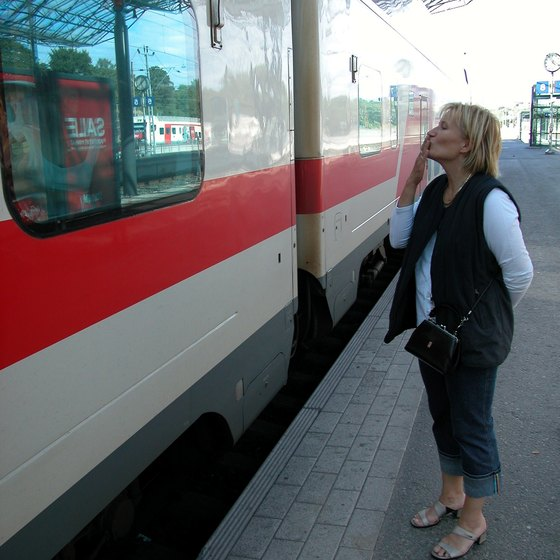 Finland's expansive train system is just one of the many ways to travel to Turku.