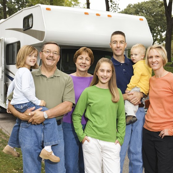 Five-star RV parks can be found in North Carolina.