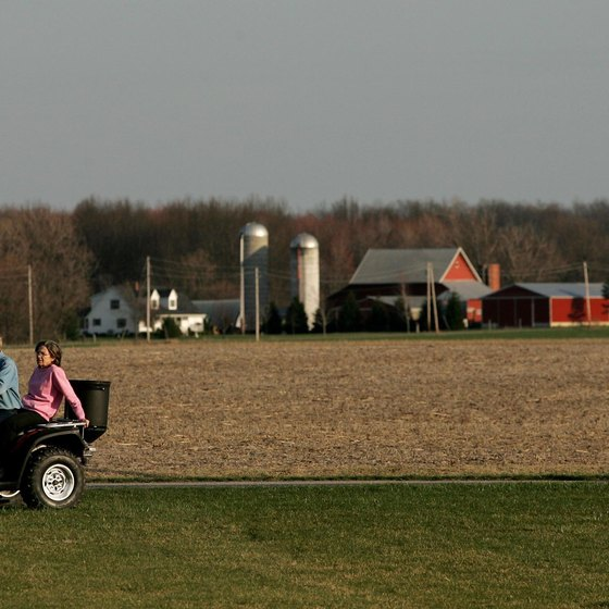 A cornfield outside of Sandusky, Ohio, doesn't begin to show the nearby fun attractions.