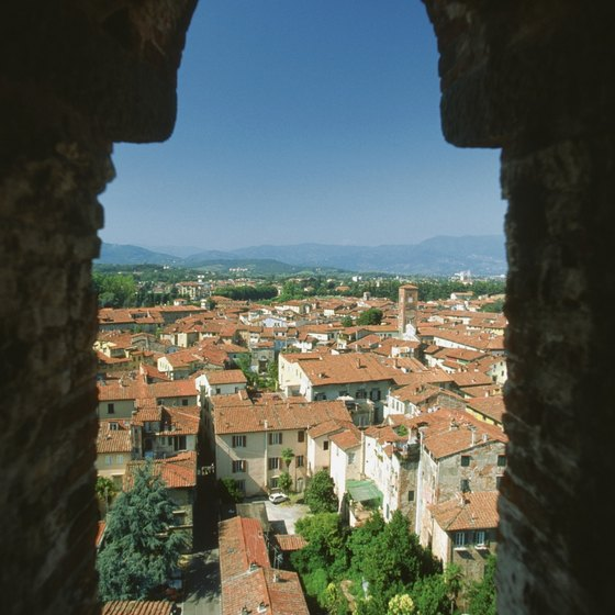 You can enjoy a walk on top of an ancient wall, tours of villas, explorations by kayak and museum trips in Lucca.