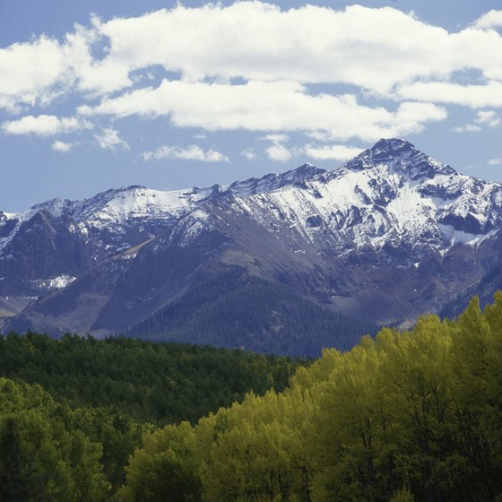 Colorado's Rocky Mountains are a romantic destination in both summer and winter.