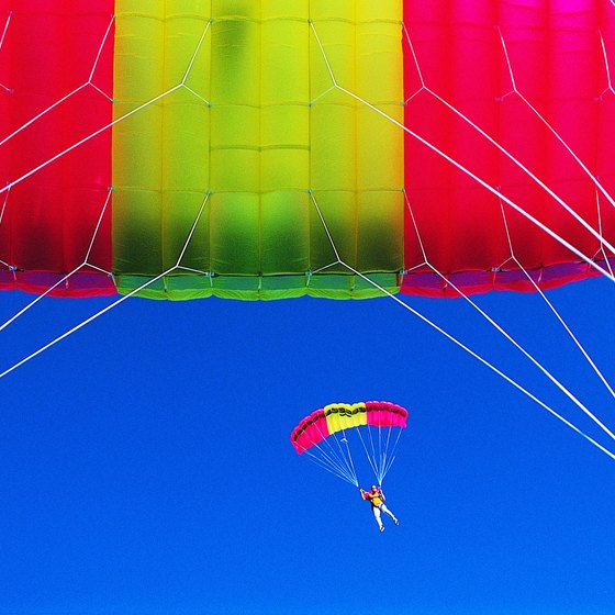 Enjoy the thrill of skydiving at Tilstock Airfield in Shropshire.