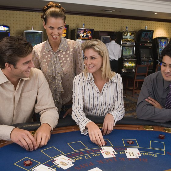 Hotel Nevada is the only casino in Ely with blackjack tables.