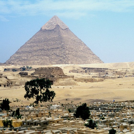 The Great Pyramid at Giza.