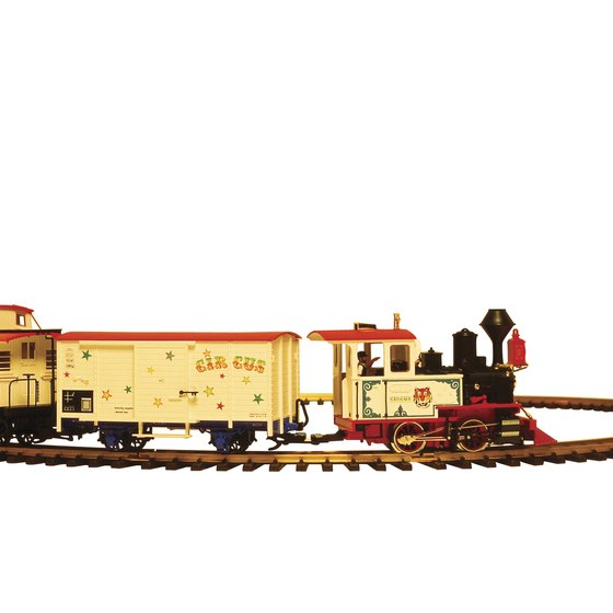 Wilson offers families of rail fans a chance to see operating model trains.