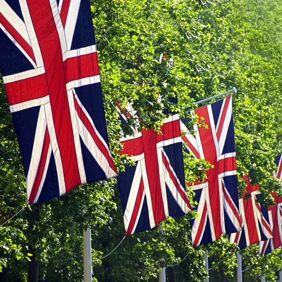 The Union Jack represents England, Scotland, Wales and Northern Ireland.