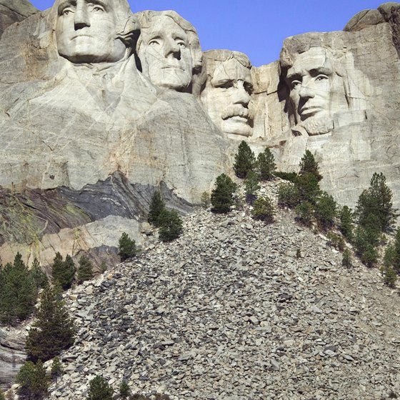 Mount Rushmore attracts millions of tourists each year.