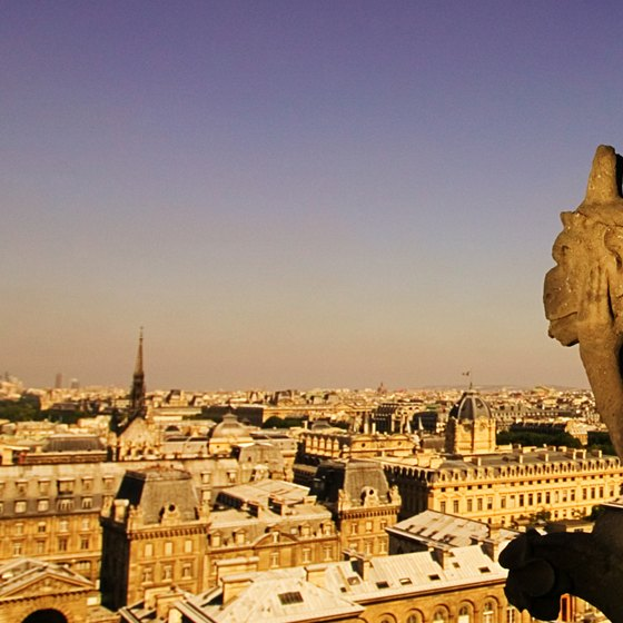 Notre Dame's gargoyles can delight all ages.