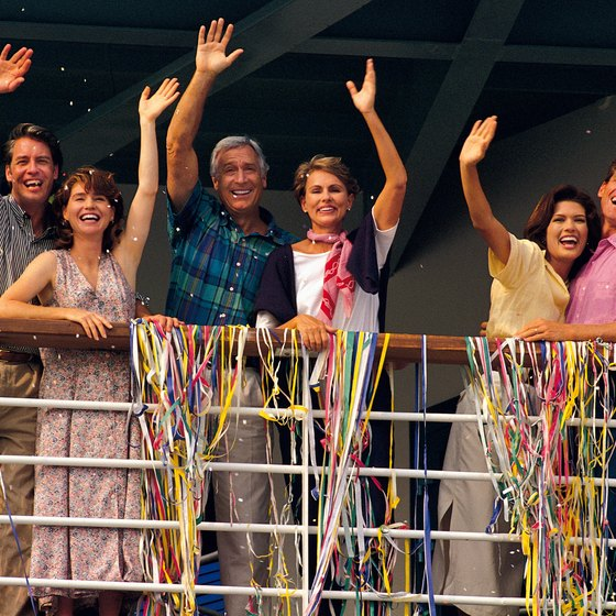 Family reunions aboard ocean cruises are gaining in popularity.