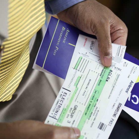 Buying an airplane ticket requires providing standard personal information.
