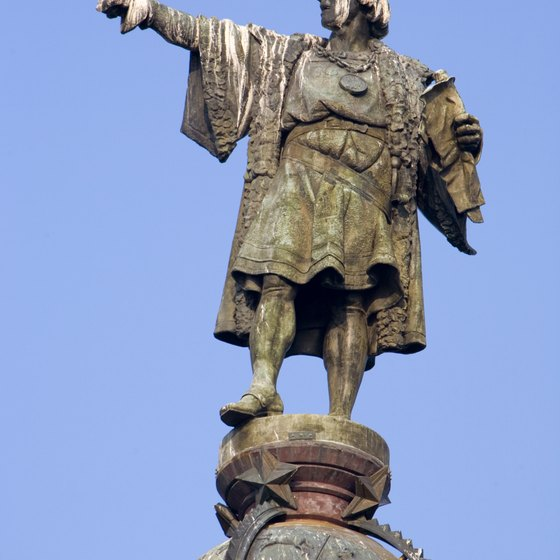 Christoper Columbus landed in Saint Ann's Bay in 1494.