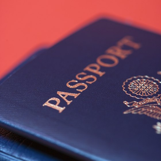 International travel requires an up-to-date passport.