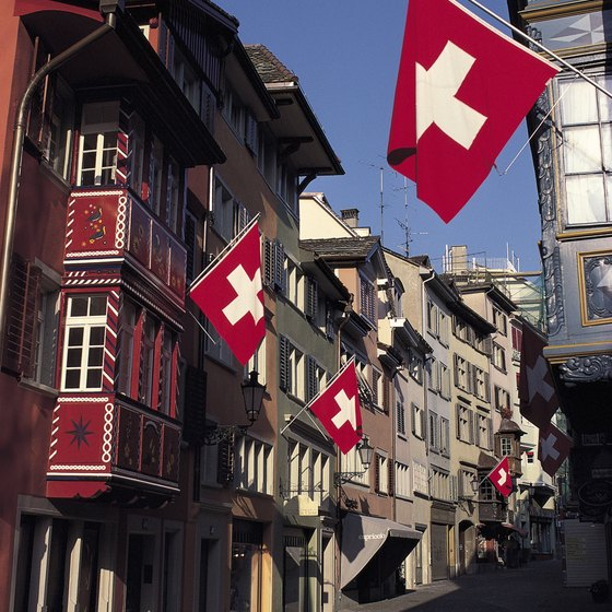 Switzerland, a country with a population of only 7 million, has four official languages.