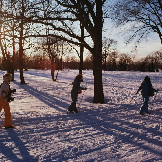 Maryland has several public and private cross-country ski trails.