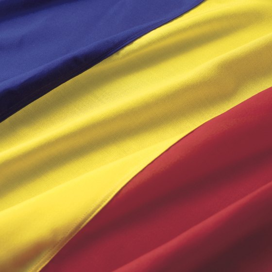 The Romanian flag takes over Broadway one day each year.