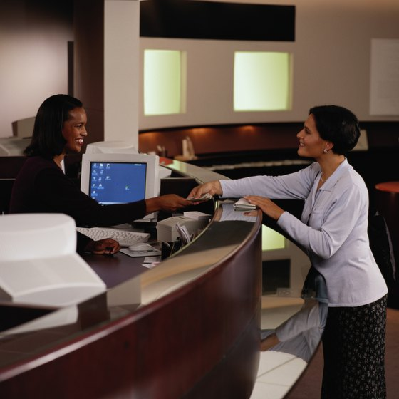 Visit a bank or financial institution to cash your American Express traveler's check.