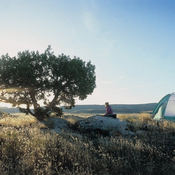 Colorado offers many high altitude campsites.