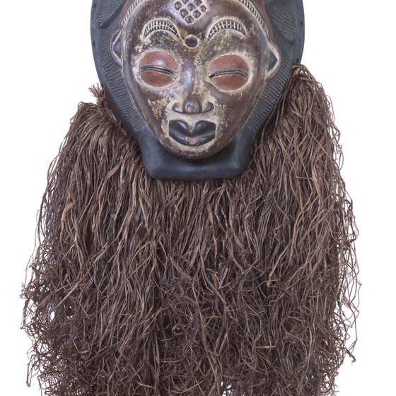 Throughout Gabon, masks are a distinct art and religious form.
