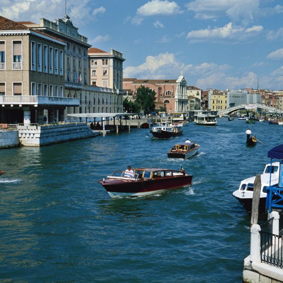 The Canals of Venice are among Italy's most unique waterways.