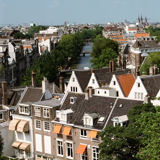 Amsterdam is a hub for rail transport in the Netherlands and beyond.