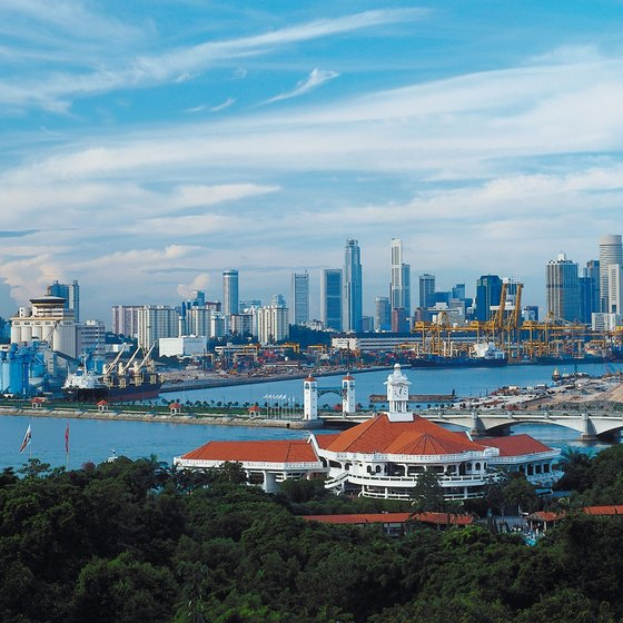 "Singapore is ""the city in a garden."""