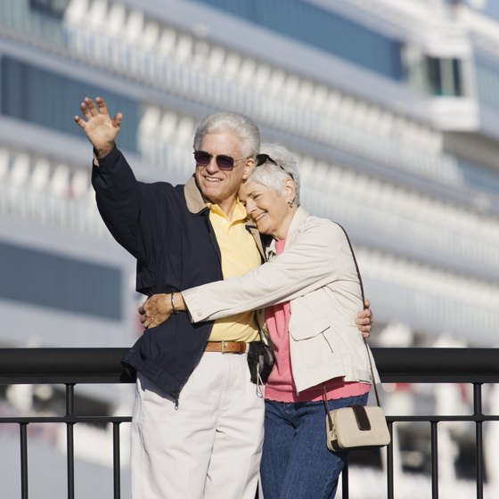 Passengers can choose a transatlantic cruise to travel to England.