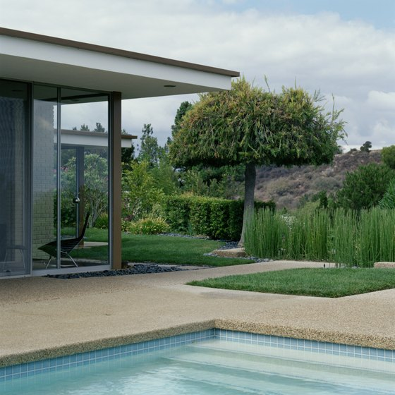 The mid-century modernist movement produced many clean-lined residences in L.A.