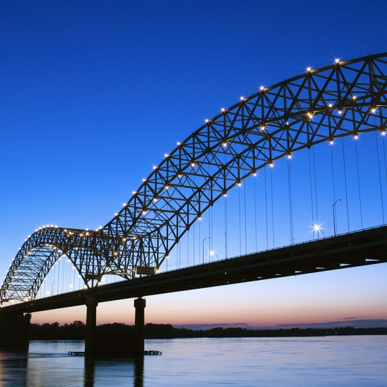 Memphis is a city with lots of good eats on the shores of the Mississippi River.