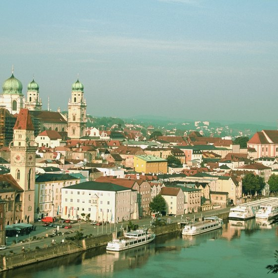 Passau's history dates to ancient Roman times.