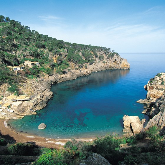 The caves along Majorca's coastline offer a spectacular subterranean experience.
